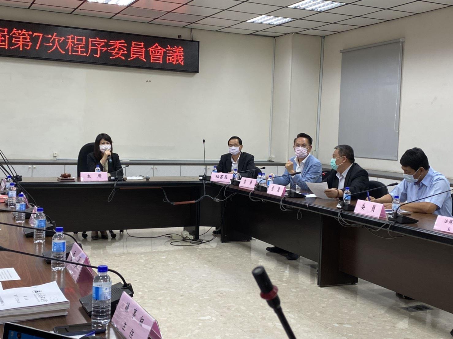 未具程序委員身分議員干擾會議,副議長陸淑美表示遺憾