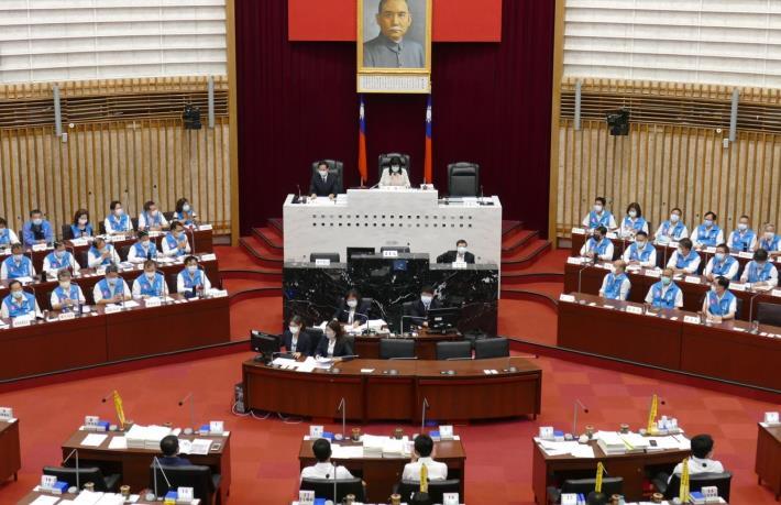 本會第3次定期大會開幕,陸副議長盼各黨派以公共利益為重