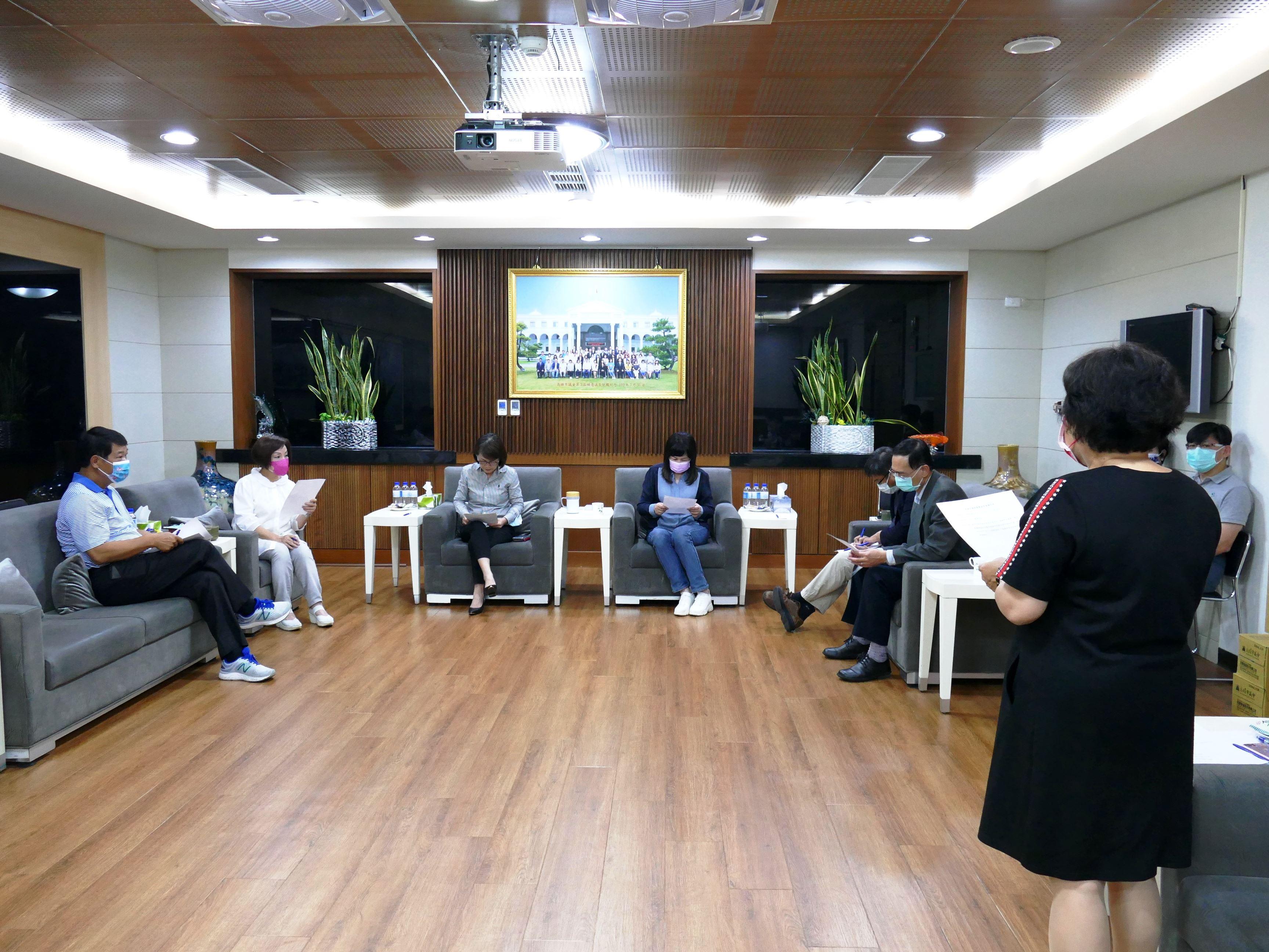 本會黨團協商決議要求陳市長將空污防制作為列施政報告重要
