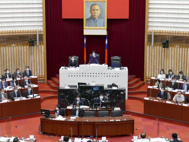 曾議長開幕致詞期許市府滿足市民最基本需求