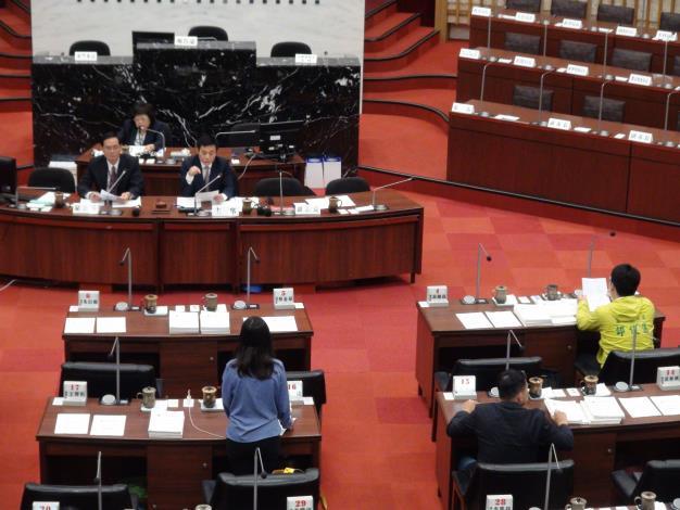 高雄市議會第1次定期大會預備會議(共1張)-1