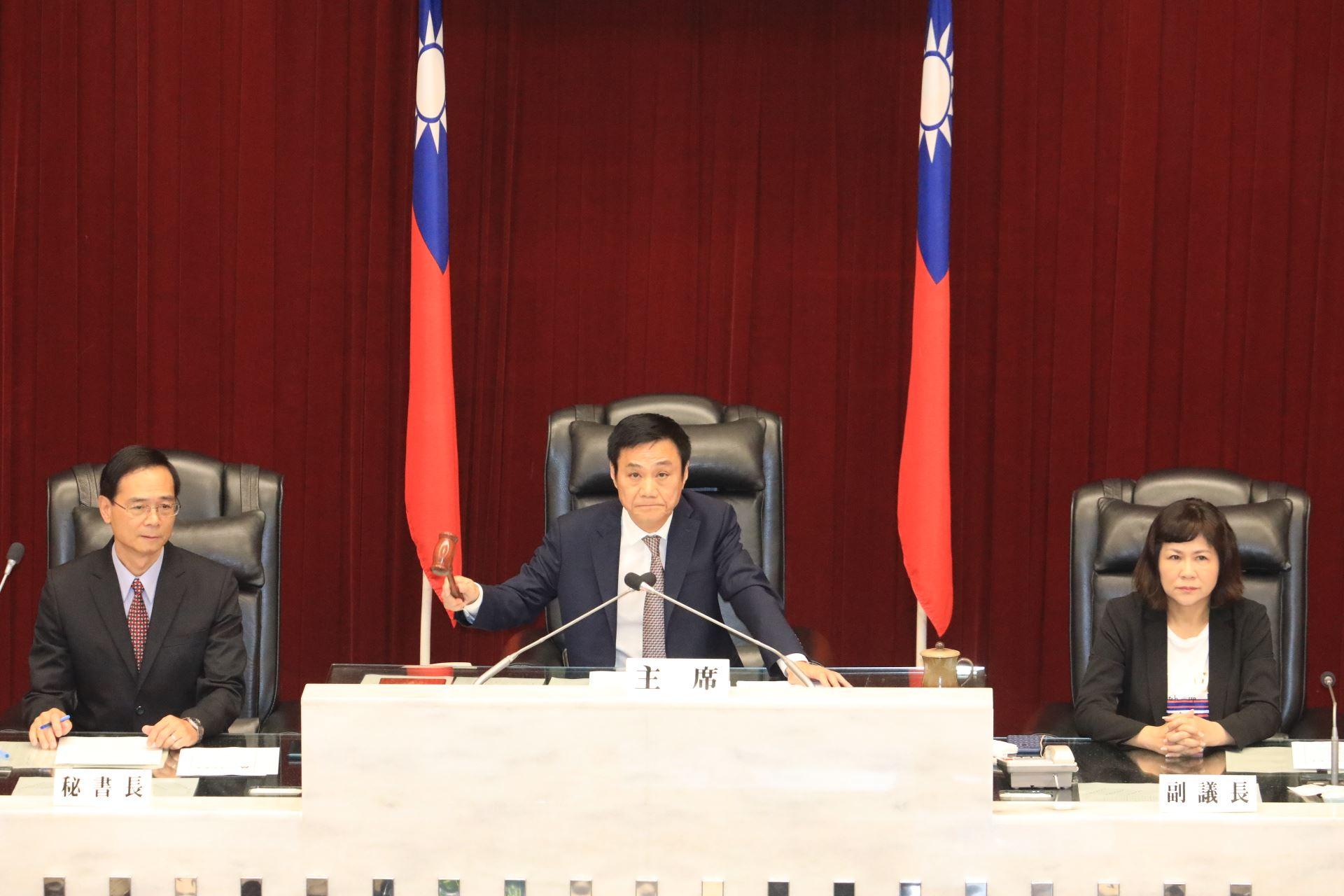 許議長肯定韓市長訪陸拼經濟