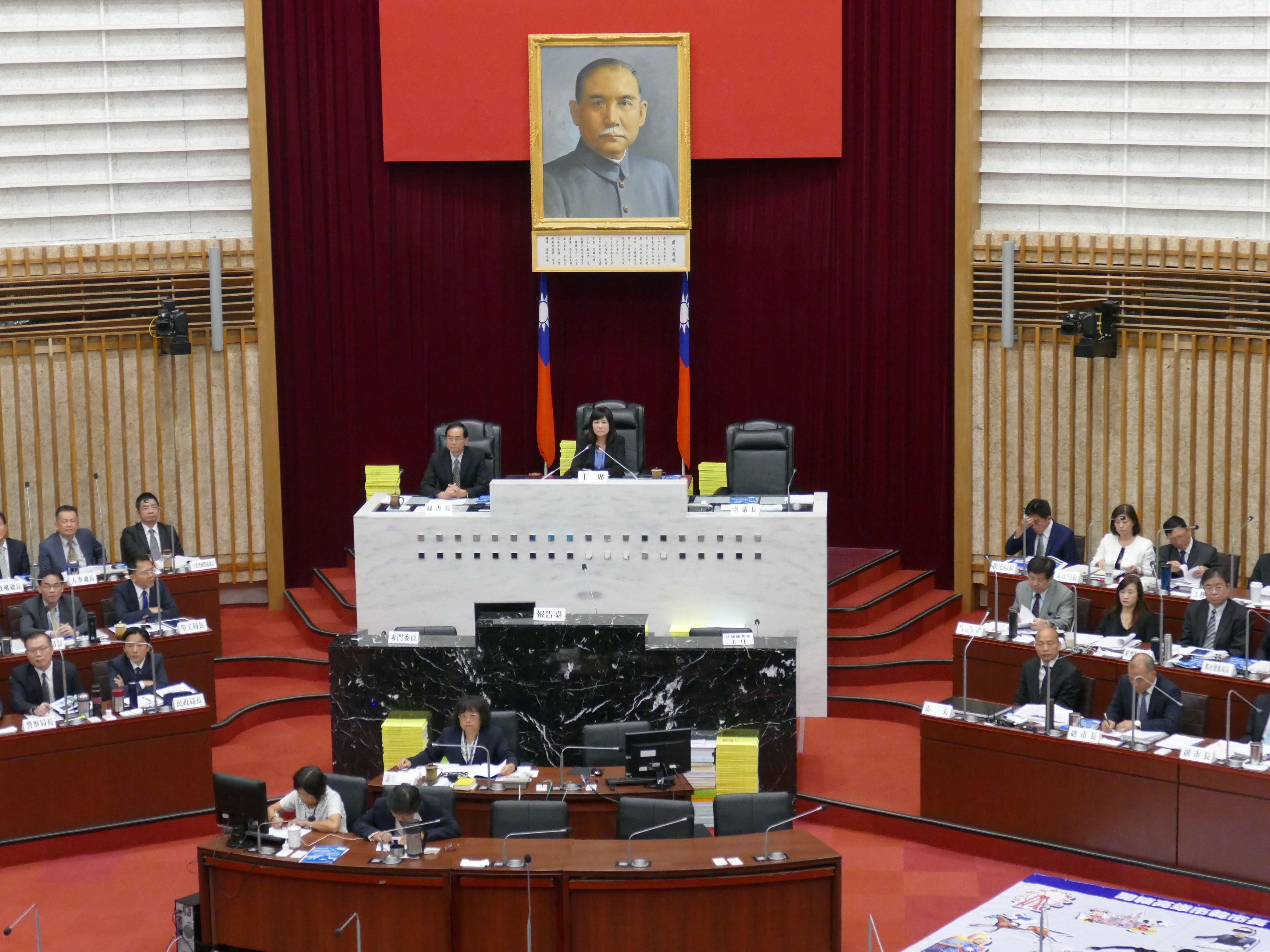 陸淑美副議長呼籲理性問政、回歸市政,尊重彼此質詢