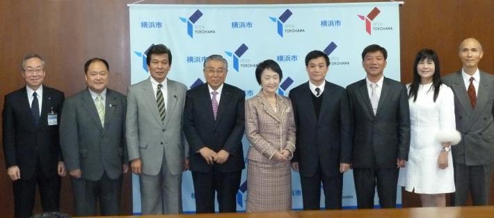 許議長率團訪橫濱姐妹議會,拓展高雄國際視野