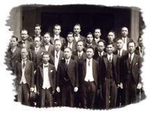 members photo during the City Senate Period (1946 – 1951)
